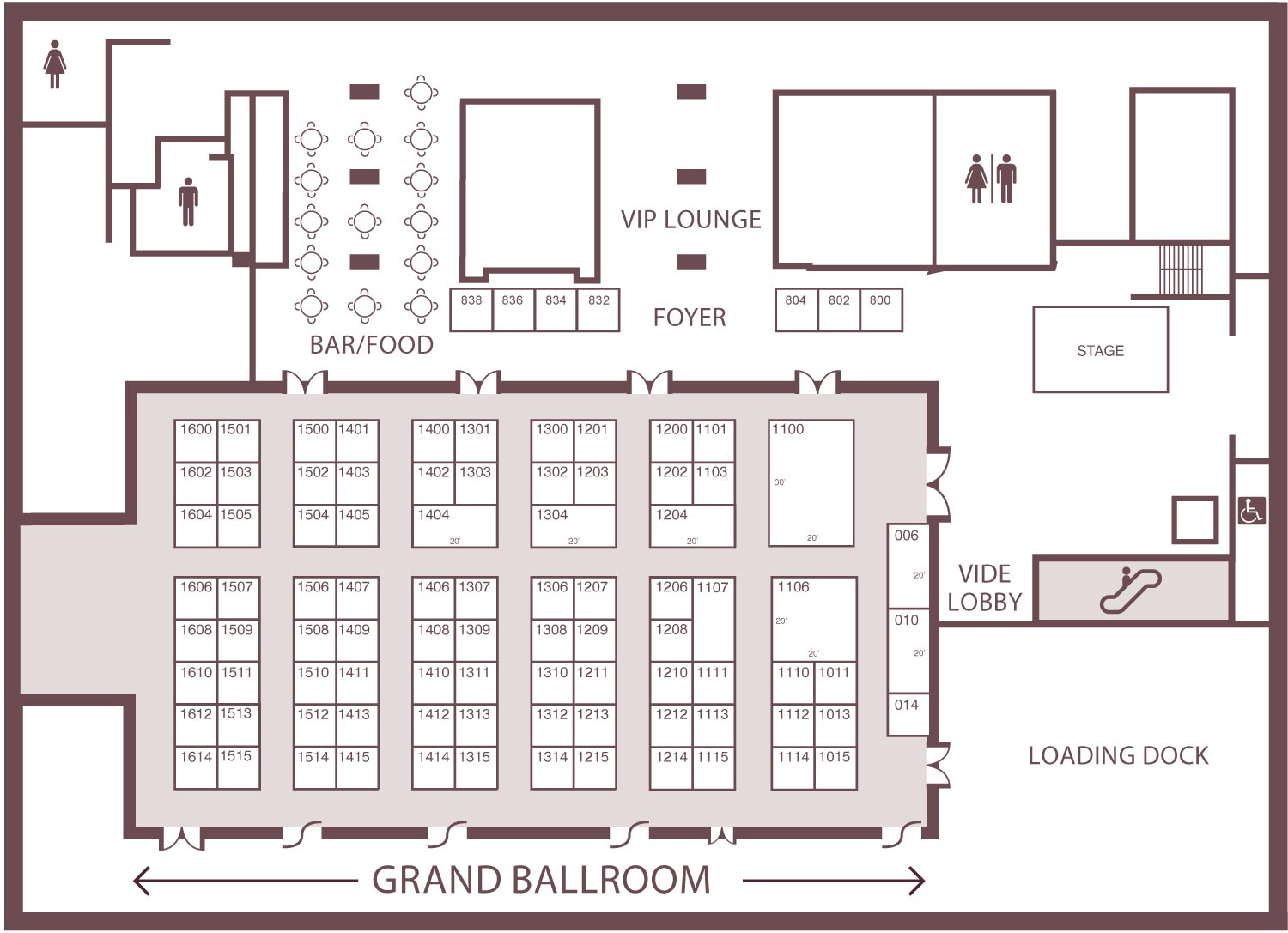Floor Plan - O'Cannabiz Conference & Expo presented by MNP ...