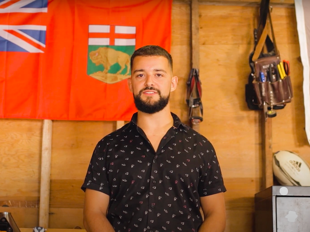Former correctional officer Jesse Lavoie filed a constitutional challenge against Manitoba's ban on home cultivation in August 2020. /