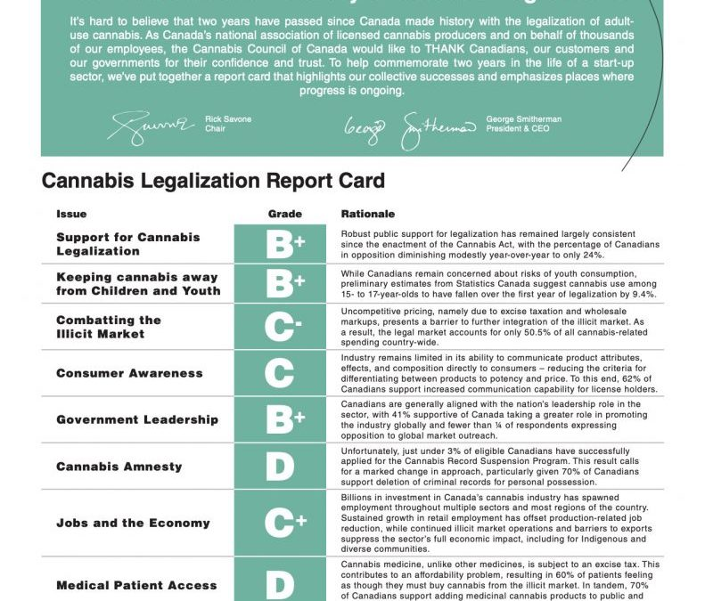 Cannabis task force chair shares thoughts on Year 2 of Cannabis Act