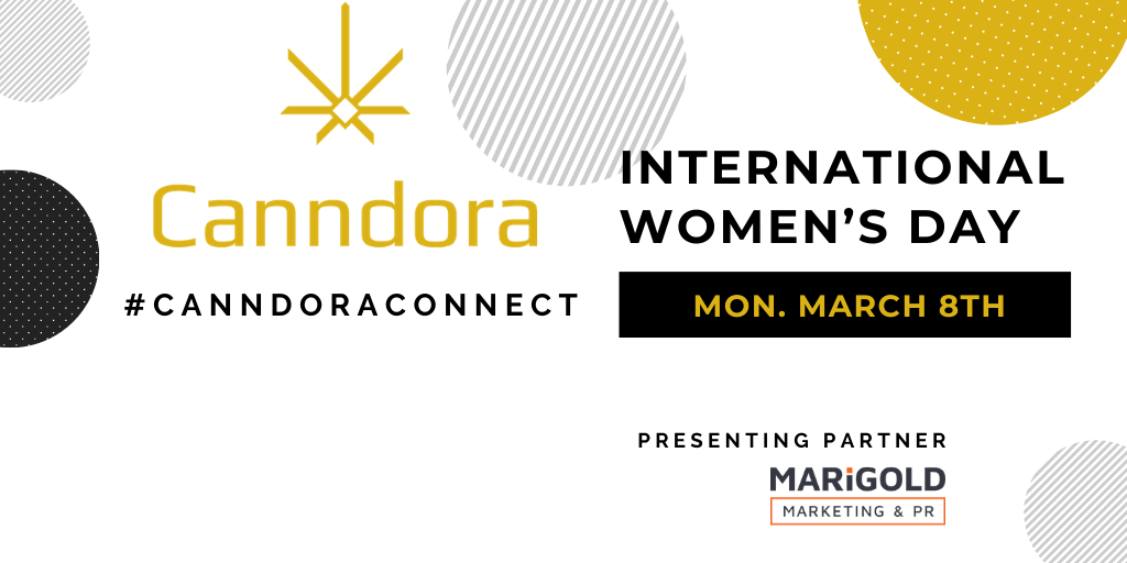 Canndora Announces International Women's Day Event for Cannabis and Psychedelics Industry