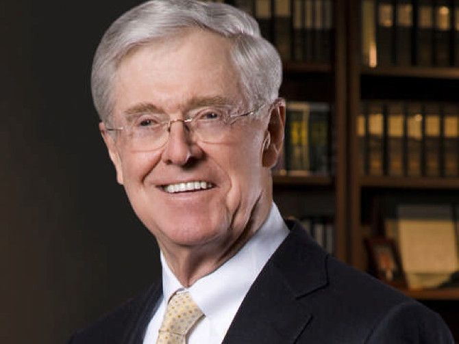 FILE: Charles G. Koch is chairman of the board and CEO of Koch Industries, Inc., a position he has held since 1967. /