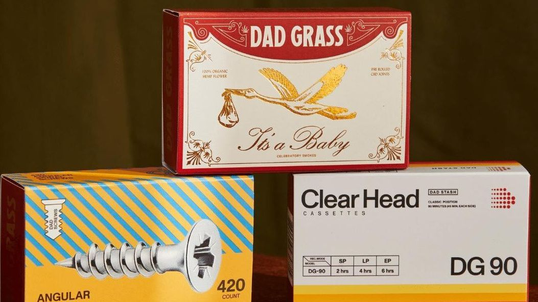 'Dad Grass' hits the market in California