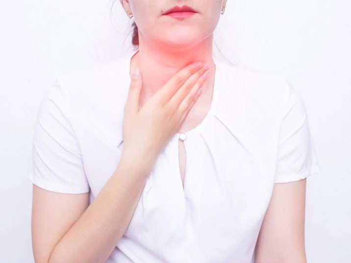 Image for representation. Teen presented with a muffled voice, fever, drooling, difficulty swallowing, painful swallowing, rapid breathing and elevated white blood cell count. /