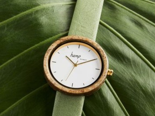 Watchmaker thinks it's time for a hemp watch